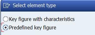 Element type: predefined column