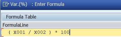 Column 4: formula actual-plan %