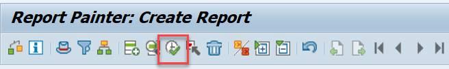 Execute report - clock
