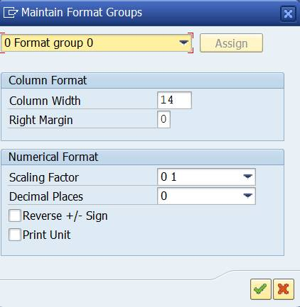format group 0
