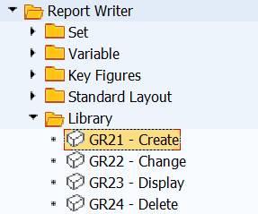 menu: library create