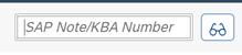 SAP Notes Search