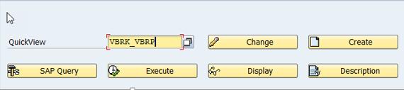 SAP QuickViewer SQVI
