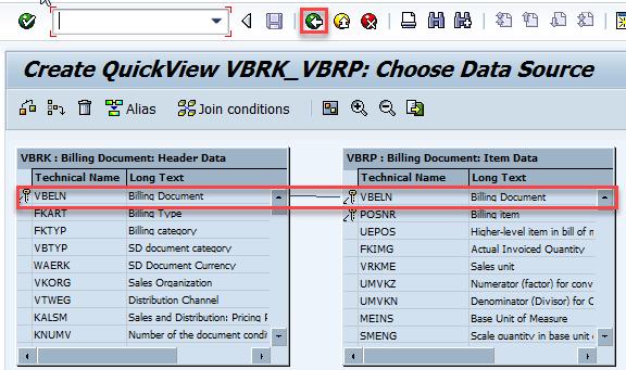 SQVI_table_join_VBRK_VBRP
