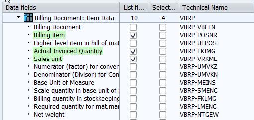 SQVI_table_join_VBRK_VBRP_data_fields_items