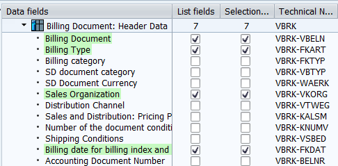 SQVI_table_join_VBRK_VBRP_header_data